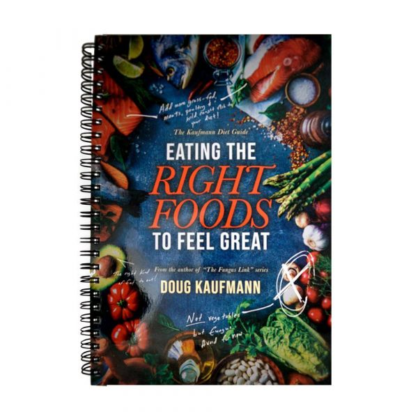 Eating the right foods to feel great book
