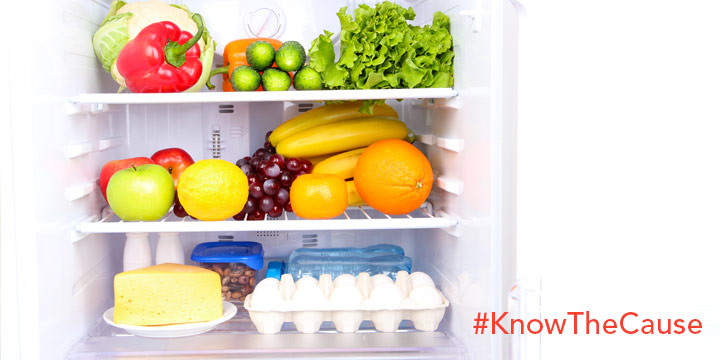 Staples for your refrigerator and freezer