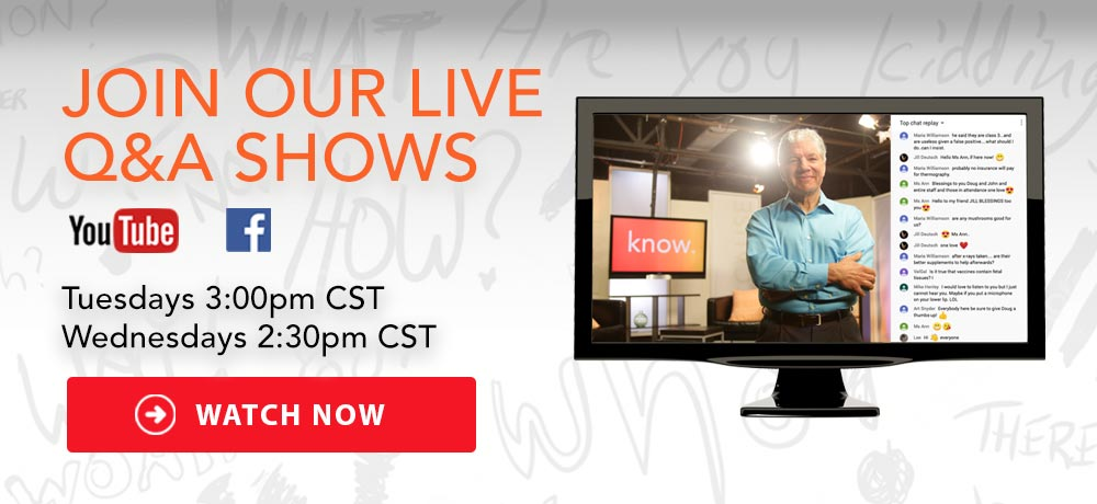 Join our live Q&A Shows